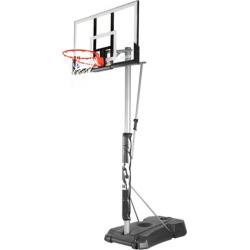 Spalding 52-in. Acrylic Portable Basketball Hoop, Multicolor