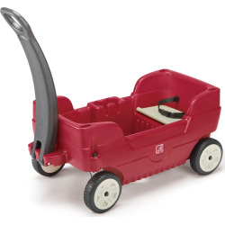 Step2 Canopy Wagon, Red