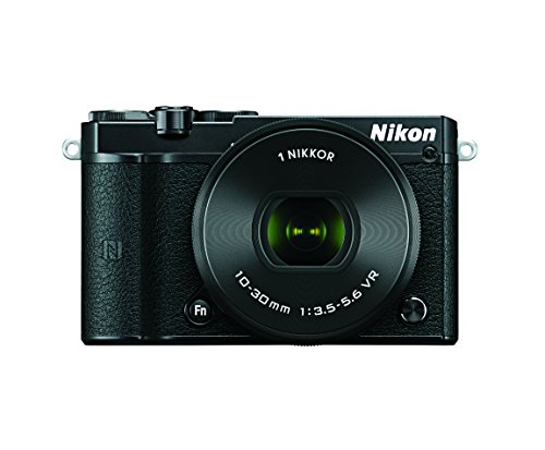 Nikon 1 J5 Mirrorless Digital Camera w/10-30mm PD-ZOOM Lens (Black)