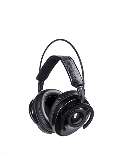 AudioQuest NightOwl Carbon Closed-Back Around-the-Ear Headphones,Carbon Grey