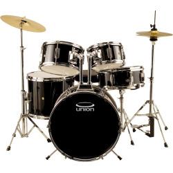 Union Junior 5-pc. Drum Set, Black