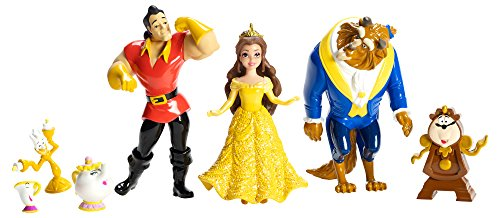Disney Princess Little Kingdom Beauty and the Beast 7-Figure Story Collection