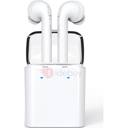 DACOM TWS Bluetooth Wireless Earbud Headsets with Mic for Apple/Android Phones