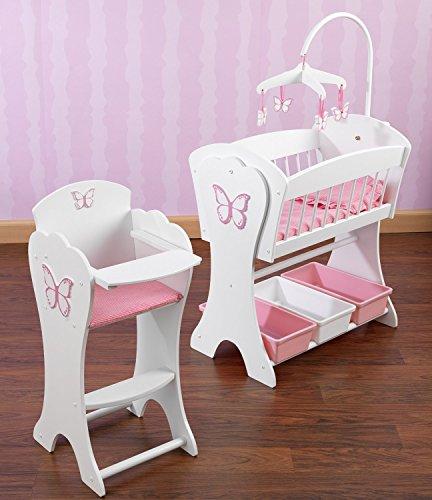 Kidkraft Pretty Pink Butterfly Doll Furniture Set