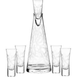 Qualia Malibu 6-pc. Vodka Set, Multicolor