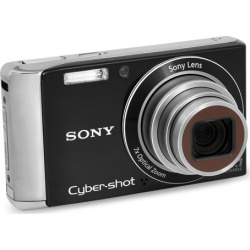 Sony Cyber-shot DSC-W370 Digital Camera – Black (Refurbished)