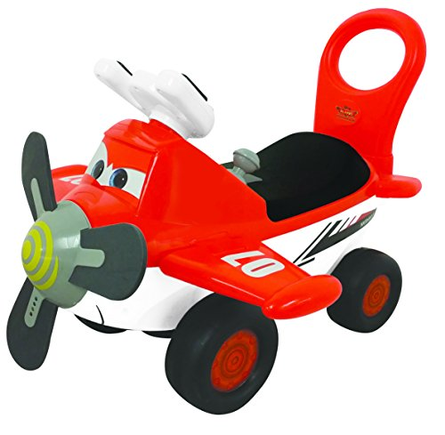 Kiddieland Disney Planes Fire and Rescue Dusty Activity Ride On