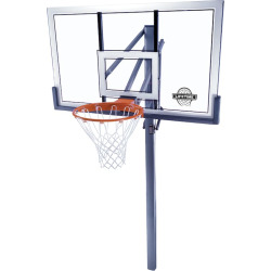 Lifetime 54-in. Competition In-Ground Basketball System, Black