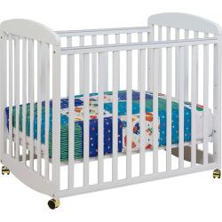DaVinci Alpha Mini Rocking Crib, White