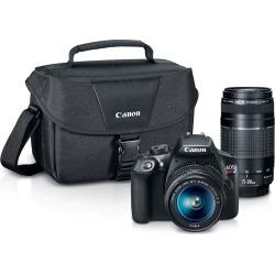 Canon EOS Rebel T6 Dslr Camera Zoom Kit, Multicolor