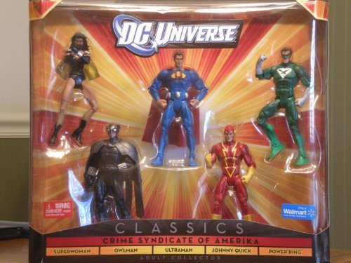 DC Universe Classics Crime Syndicate of Amerika Exclusive 5-Figure Set by DC Comics