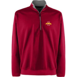Men's Iowa State Cyclones 1/4-Zip Leader Pullover, Size: Large, Red