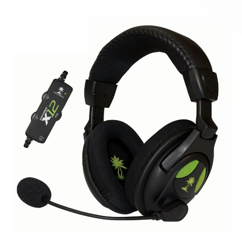 Turtle Beach – Ear Force X12 Amplified Stereo Gaming Headset – Xbox 360 (Discontinued by Manufacturer)