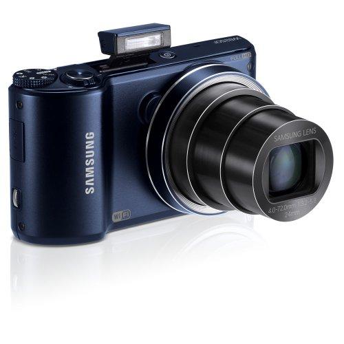 Samsung WB250F Smart Wi-Fi Digital Camera (Cobalt Black)