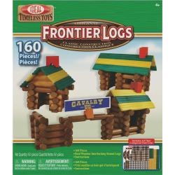 Ideal Frontier Logs 160-pc. Building Set, Multicolor