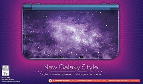 Nintendo New 3DS XL – Galaxy Style (with AC Adapter)