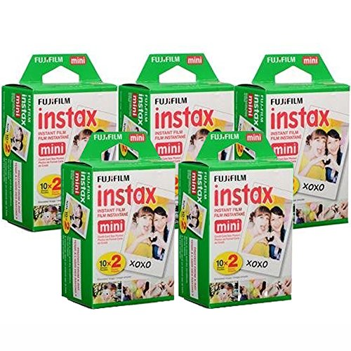 fujifilm instax mini instant film 10 sheets of 5 pack 2 100 sheets  - Allshopathome-Best Price Comparison Website,Compare Prices & Save