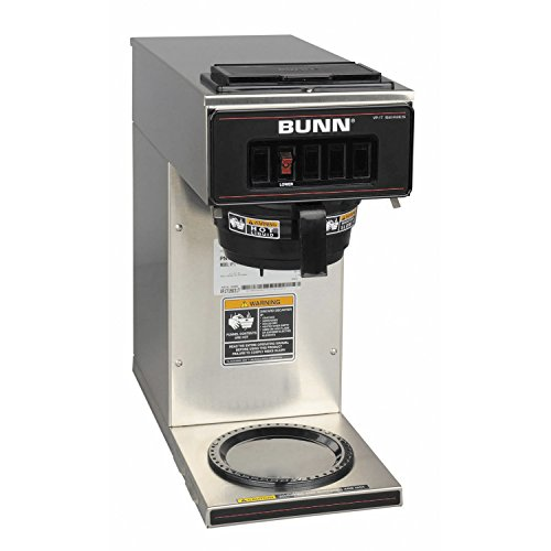 bunn 133000001 vp17 1ss pourover coffee brewer with 1 warmer stainless - Allshopathome-Best Price Comparison Website,Compare Prices & Save
