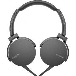 Sony On-Ear Extra Bass Headphones, Black
