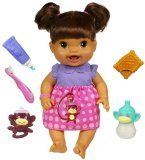 Baby Alive Baby's New Teeth – Brunette (Styles May Vary)