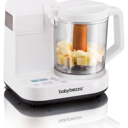 Baby Brezza Glass Food Maker, White