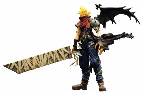 Kingdom Hearts Play Arts Vol. 2 Action Figure – Cloud Strife Coliseum Ver.