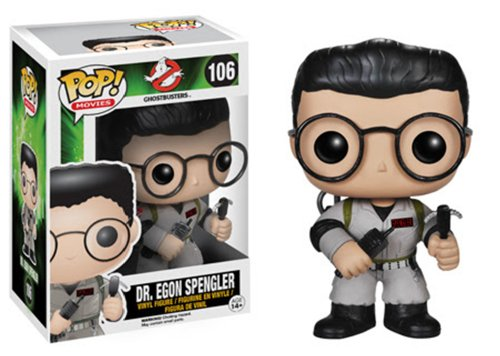 Funko Pop! Movies: Ghostbusters – Dr. Egon Spengler Action Figure
