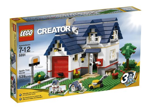 LEGO Creator Apple Tree House (5891) – 539 Piece set (Discontinued by manufacturer)