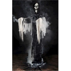 Halloween Reaper Fogger Phantom Decor, Black