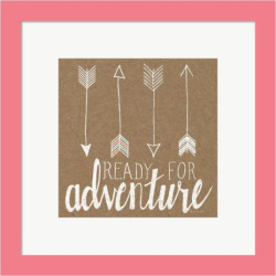 "Metaverse Art ""Ready for Adventure"" Framed Wall Art, Multicolor"