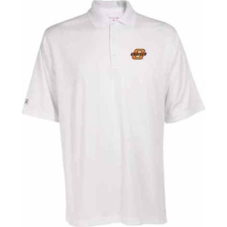 Men's Oklahoma State Cowboys Exceed Desert Dry Xtra-Lite Performance Polo, Size: Medium, White