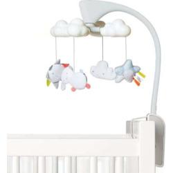 Skip Hop Moonlight Melodies Cloud Projector Mobile, White