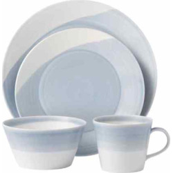 Royal Doulton 1815 16-pc. Dinnerware Set, Blue