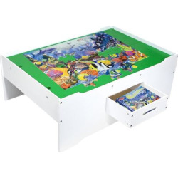 Melissa and Doug Multi-Activity Table, Multicolor