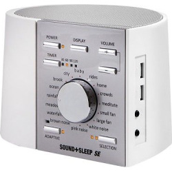 Sound+Sleep Special Edition Adaptive Sound System White/Silver