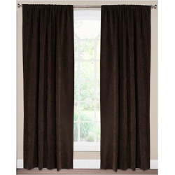 Siscovers Padma Coffee Bean Curtain Panel – Padma Coffee Bean (52″ x 84″)