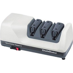 Chef'sChoice Electric Diamond Hone 3 Stage Knife Sharpener – White
