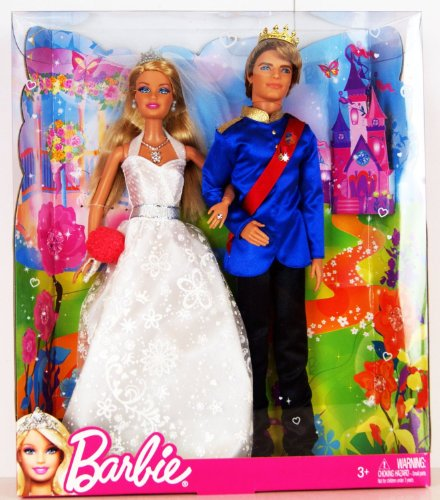 Barbie Fairytale Wedding Doll Set