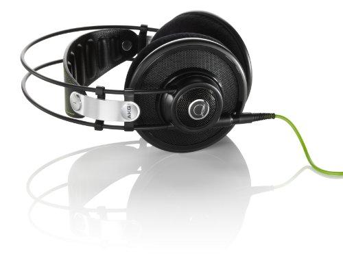AKG Q 701 Quincy Jones Signature Reference-Class Premium Headphones – Black