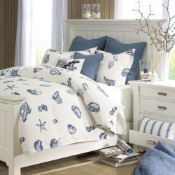 HH Beach House Duvet Cover Set, Blue
