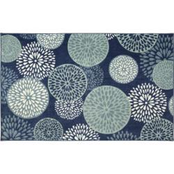 Mohawk® Home Foliage Friends Floral Rug, Blue