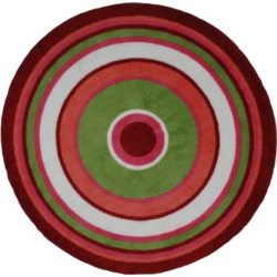 Fun Rugs Fun Time Concentric 3 Rug, Multicolor