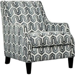 Accent Chairs Gunmetal (Grey) – Signature Design by Ashley