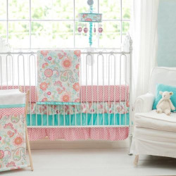 My Baby Sam Gypsy Baby 3-pc. Crib Bedding Set, Multicolor