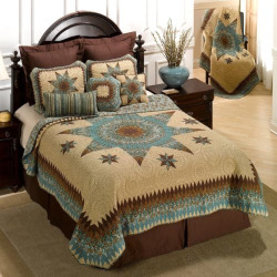 Donna Sharp Sea Breeze Star Quilt, Multi