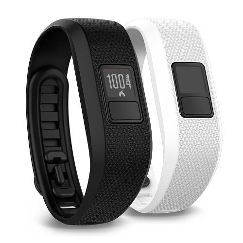 Garmin 010-01608-05 vivofit 3 Bundle w/ Additional White Accessory Band