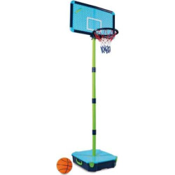 Mookie All-Surface Basketball Hoop, Blue