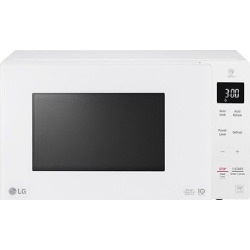 LG .9 cu ft Smart Inverter Countertop Microwave – White
