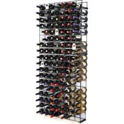 Wine Enthusiast 144-Bottle Wine Rack, Black