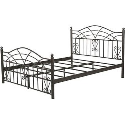 Christopher Knight Home Brassfield King Sized Iron Bed – King – Black